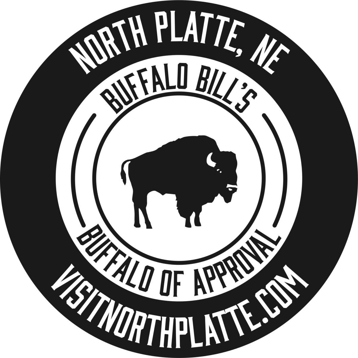Buffalo Bill's Buffalo of Approval Seal