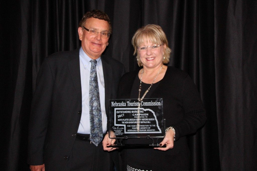 North Platte / Lincoln County Visitors Bureau Nebraska Tourism Commission Award