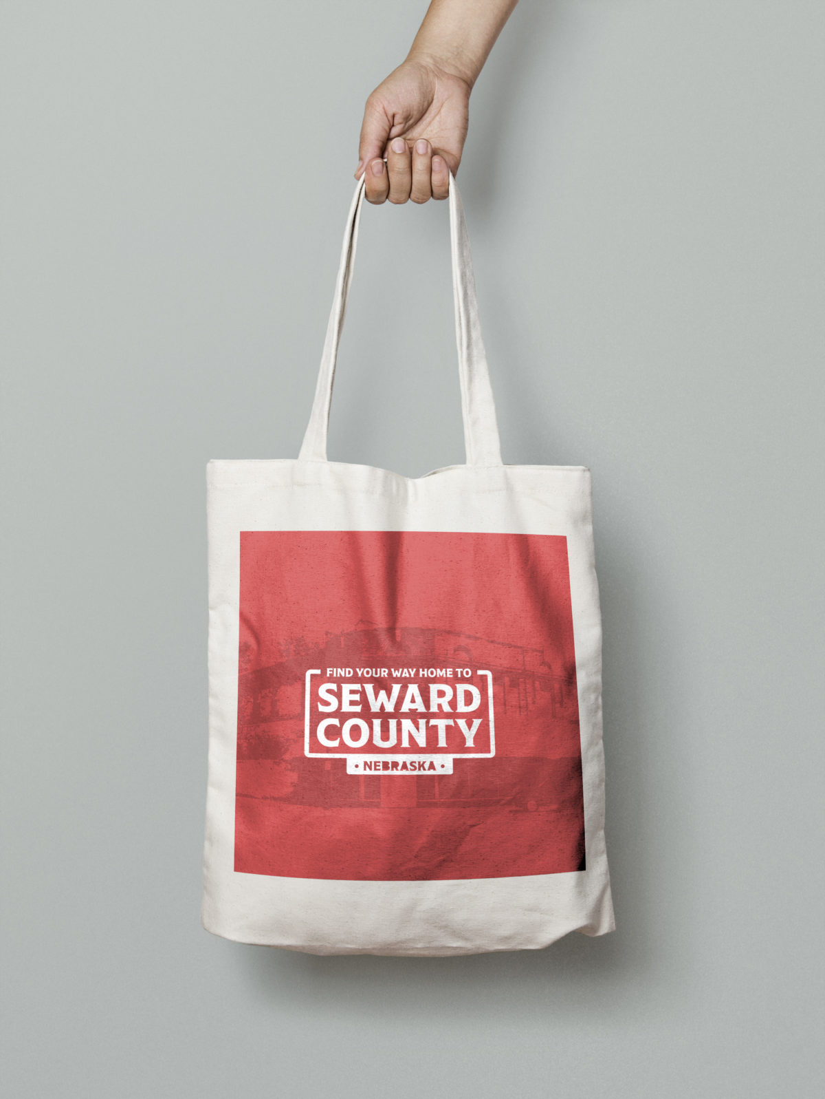 Seward County Canvas Tote Bag