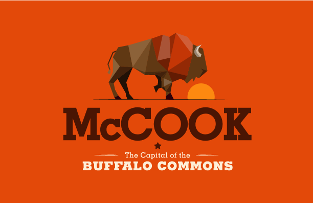 McCook Logo On Orange