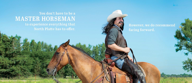 Buffalo Bill Backward Horse Ad