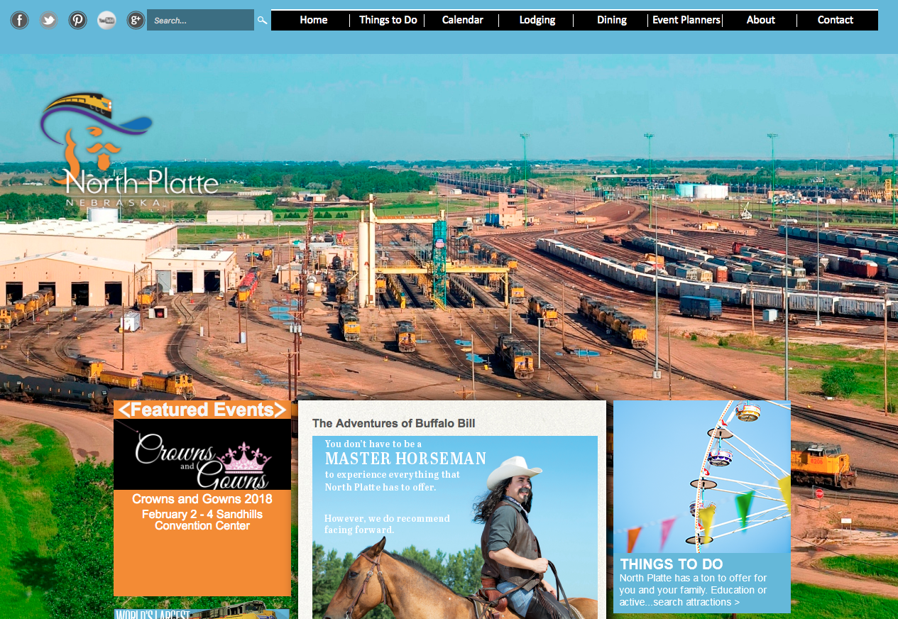 Visit North Platte website
