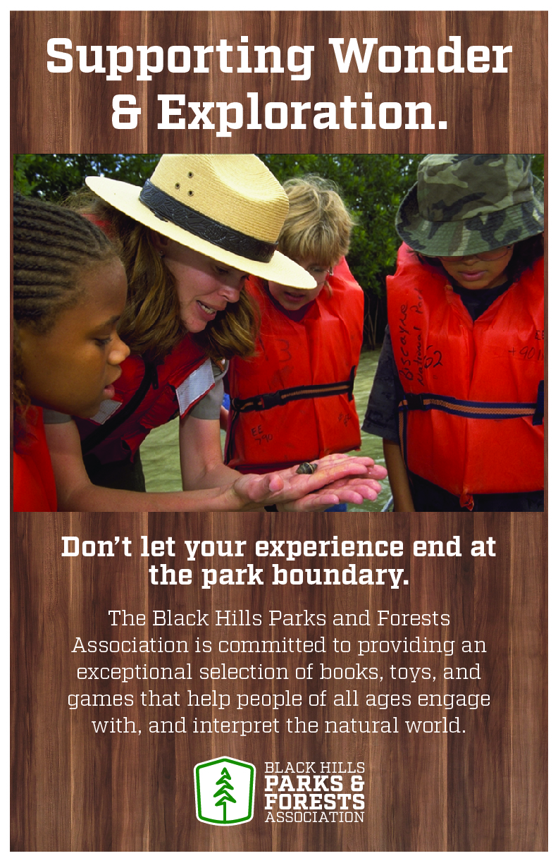 Black Hills Parks and Forests Association poster 4