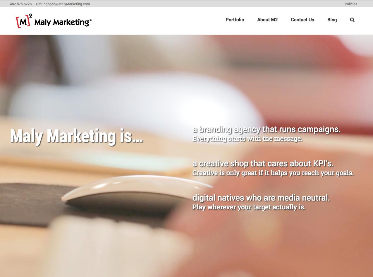 Maly Marketing Screenshot